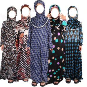 Muslimisch Kinder Mädchen Kleid Abaya Burka Gebet Robe Kaftan Eid
