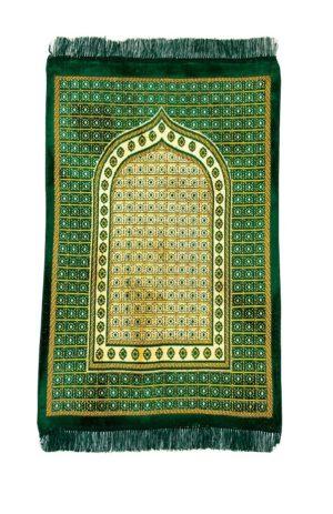 Seccade gebetsteppich türkich grün