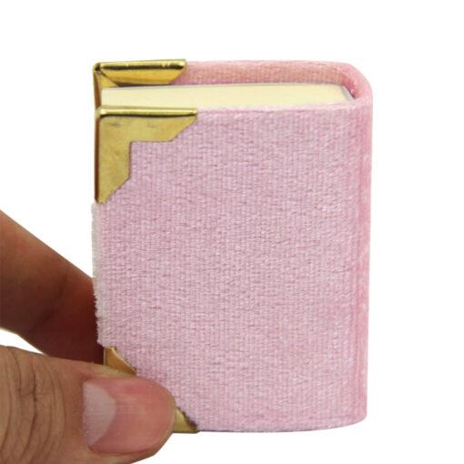 Mini Koran & 99 Gebetskette Geschenkbox 10lu Allah Lafzi Yazili Mini Kuran i Kerim Pembe 2