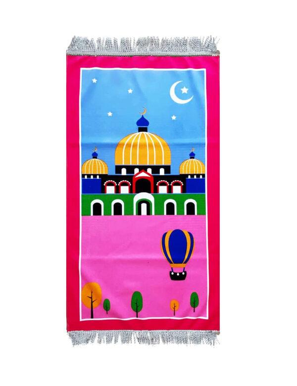 Gebetsmatte für Kinder Namaz rosa