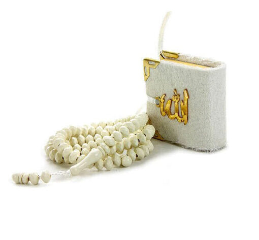 Mini Koran & 99 Gebetskette Geschenkbox Mini Koran Gebetskette
