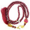 Gebetskette 99 Perlen - Bordeaux Muslim kette gebetskette