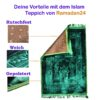 Gebetsteppich gepolstert blau ProductImage PT05 Recovered scaled