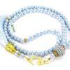 Gebetskette 99 Perlen - Türkis gebetskette blau tuerkis