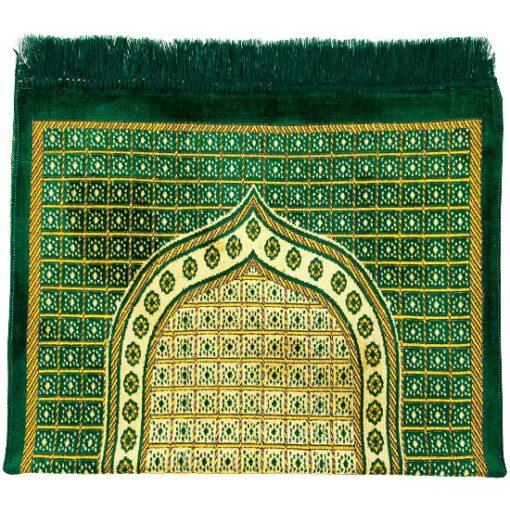 Gebetsteppich Grün gebetsteppich seccade gruen