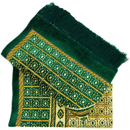 Gebetsteppich Grün gebetsteppich seccade tuerkich