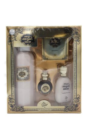 schwarz holz black oud parfüm set