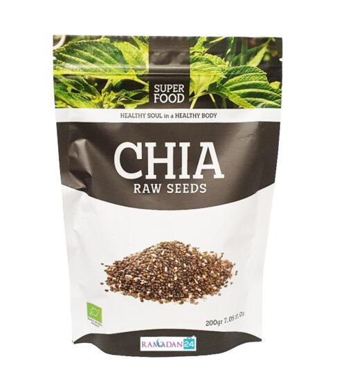 Super food Chia roh Samen